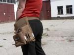Cheffe hat eine neue Handtasche für den Bau