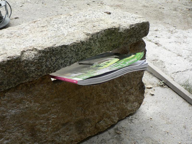briefkasten granit naturstein 03 pimp my bauernhof. Black Bedroom Furniture Sets. Home Design Ideas