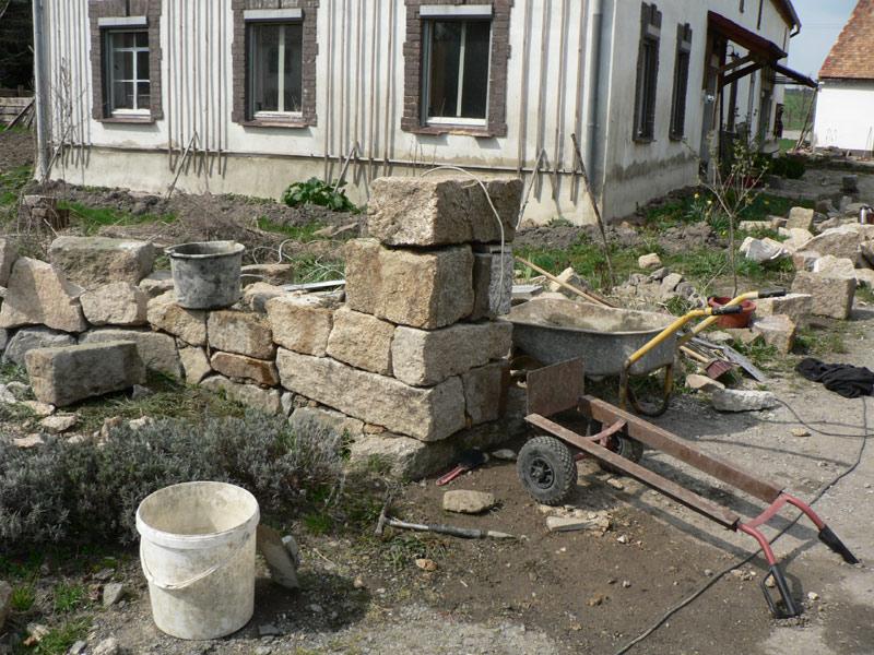 mauer naturstein granit selber bauen 21 pimp my bauernhof