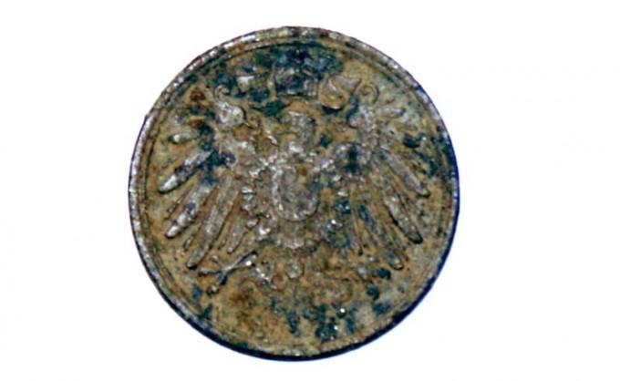 1 Pfennig deutsches reich 1912 vorderseite 1 wappen
