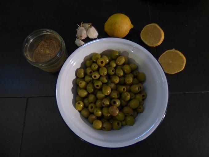 oliven salat beilage zitrone koriander 01