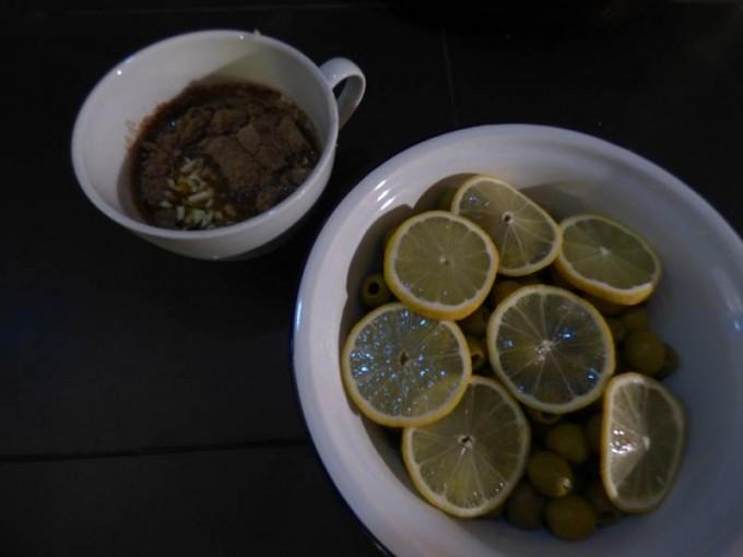oliven salat beilage zitrone koriander 02