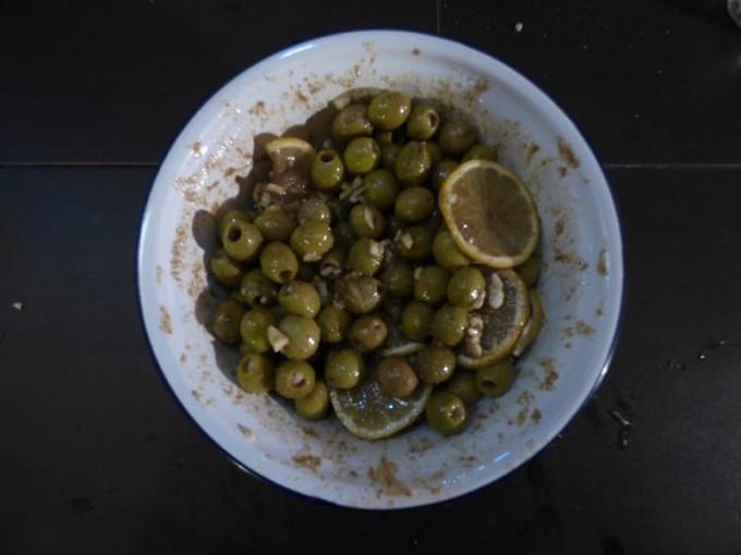 oliven salat beilage zitrone koriander 03