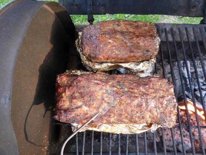 hackbraten vom grill grillen 01