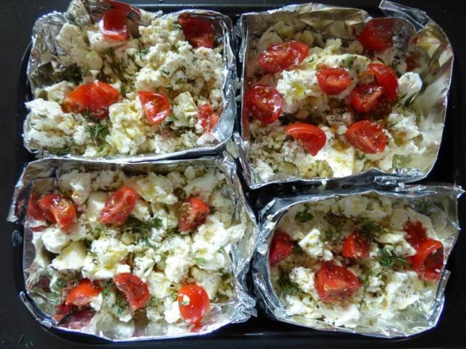 feta kaese grillen knoblauch tomater kraeuter 1