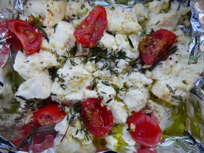 feta kaese grillen knoblauch tomater kraeuter 2