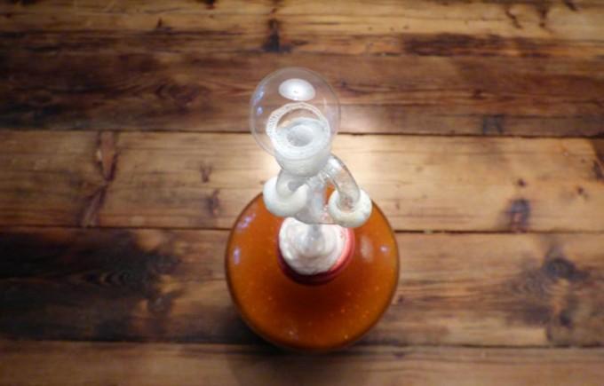 rhabarberwein entsafter selber machen rezept dampfentsafter saft rharbarber01