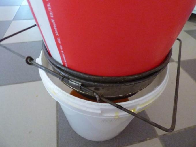 wildbau bienen waben honig ohne schleuder 08