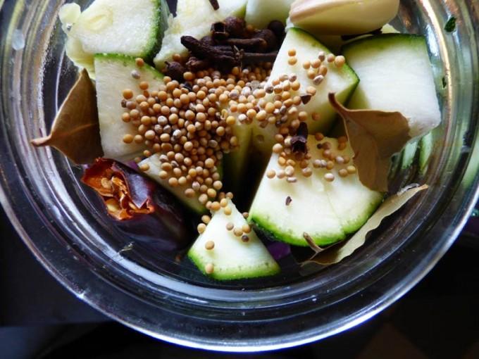 zucchini einkochen rezept einlegen einmachen 1