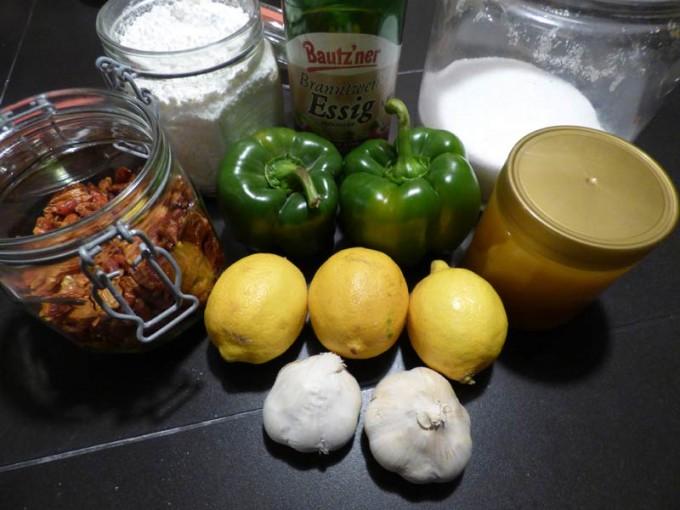 sweet chilli lemon sauce rezept selber machen 01