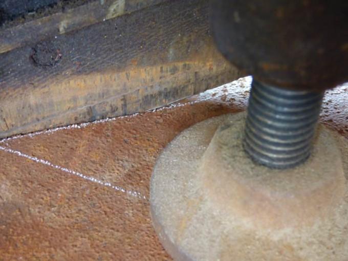 tisch selber bauen bohlen stahl rustikal industrial style esstisch 02
