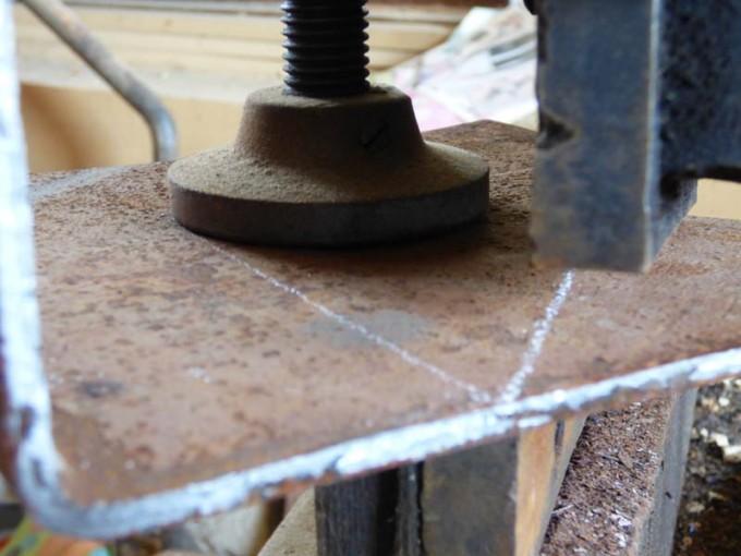 tisch selber bauen bohlen stahl rustikal industrial style esstisch 03