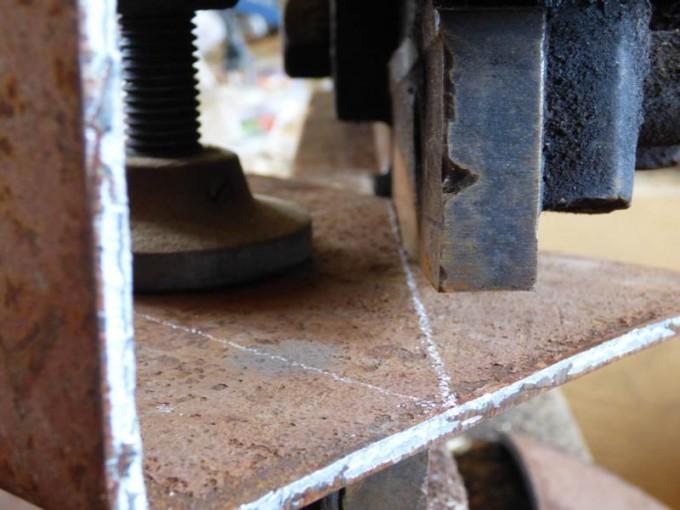 tisch selber bauen bohlen stahl rustikal industrial style esstisch 04