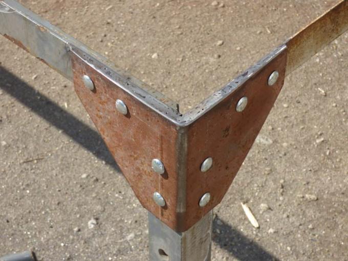 tisch selber bauen bohlen stahl rustikal industrial style esstisch 12