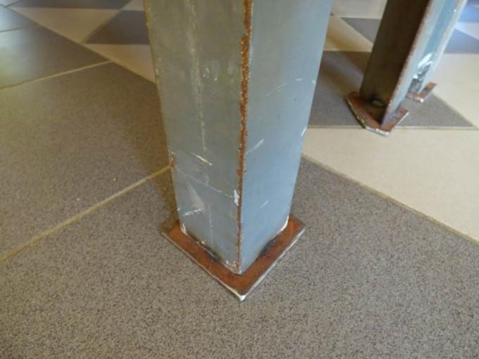 tisch selber bauen bohlen stahl rustikal industrial style esstisch 18