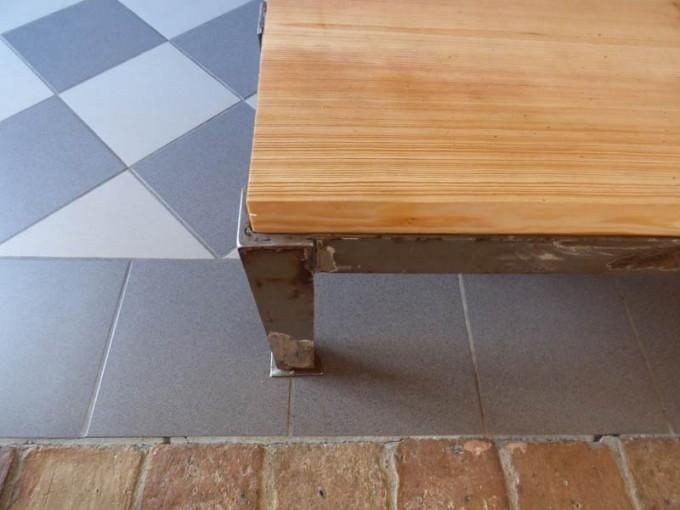Tisch Selber Bauen Bohlen Stahl Rustikal Industrial Style Esstisch