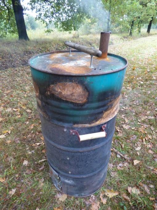 ugly drum smoker selber auen bauanleitung tipps UDS eigenbau watersmoker hering raeuchern 01