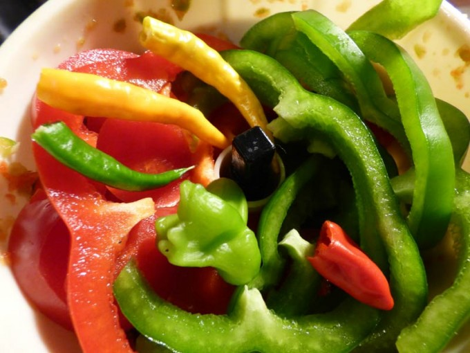 hot chili sauce paprika rot gruen rezept 1
