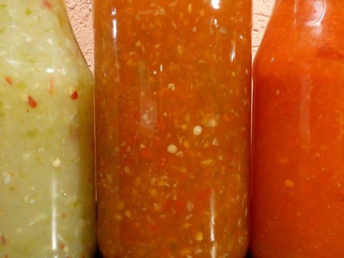 hot chili sauce paprika rot gruen rezept 3