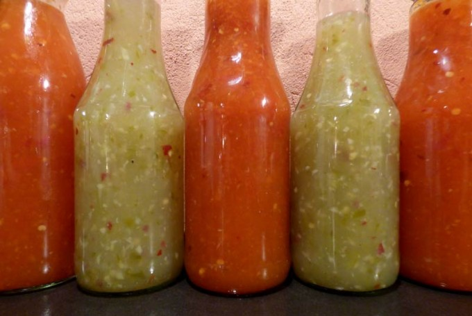 red green hot chili sauce selber machen rezept 6