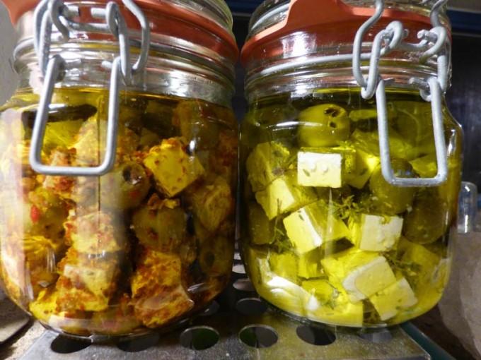 feta in olivenoel
