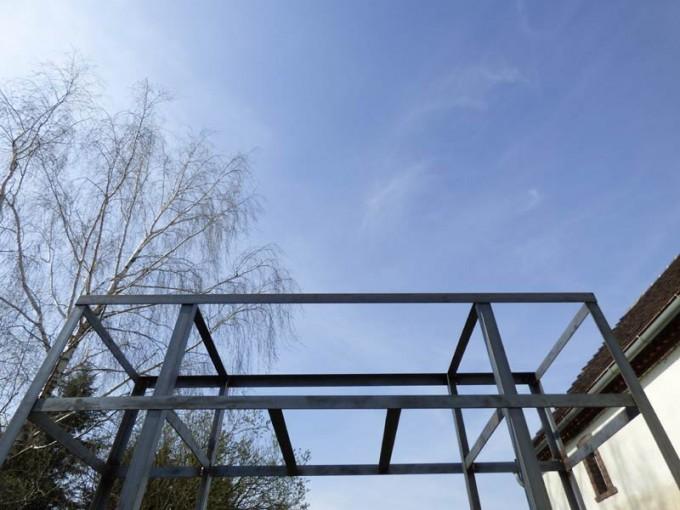 rosenrankgitter selber bauen schweissen stahl  03