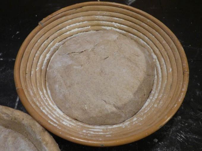 pagnotta di grano aus selbst gemahlenem mehl 06
