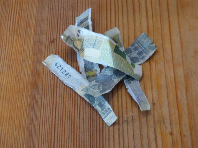 5 euro zerissen 1 #