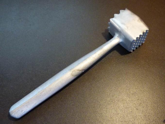 Schnitzel Hammer   04