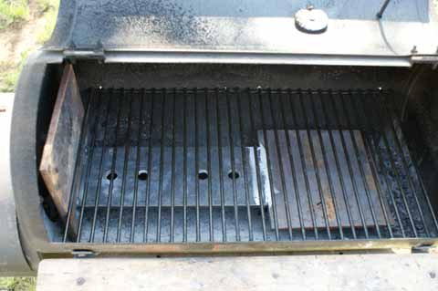 Hitze im Smoker verteilen